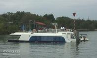 Tàu cao tốc chở 42 người gặp sự cố ở Cần Giờ