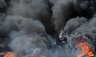 Hình ảnh bạo lực bùng phát dữ dội ở Gaza
