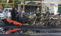 Indonesia: Xe máy mang bom lao vào đồn cảnh sát