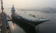 Trung Quốc thử nghiệm tàu sân bay nội địa, chuẩn bị đưa vào biên chế