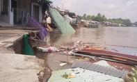 Sạt lở nghiêm trọng ở Cần Thơ, 19 căn nhà bị thiệt hại