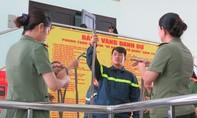 TP.HCM: Tập huấn PCCC cho phụ nữ lực lượng vũ trang