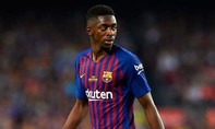 Arsenal muốn mượn Dembele của Barcelona