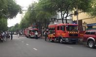 Cháy tại trụ sở Liên đoàn bản đồ địa chất Việt Nam