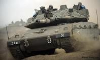 Siêu xe tăng của Israel nã pháo, 2 người Palestine thiệt mạng