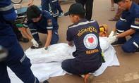 Buôn sắt vụn tại Lào, cụ bà bị tai nạn tử vong