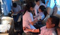 45 đơn vị máu đến với bệnh nhân nghèo