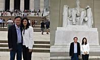 Anh em nhà Thaksin khiến nhiều người ngạc nhiên với tấm hình ở Mỹ