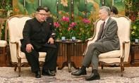 Ông Kim Jong Un hội kiến thủ tướng Singapore Lý Hiển Long