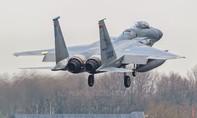 Tiêm kích F-15 Mỹ rơi tại vùng biển ngoài khơi Nhật Bản
