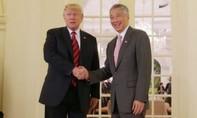 Tổng thống Trump hội kiến thủ tướng Lý Hiển Long