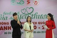 Ca sĩ Sỹ Luân, Cao Mỹ Kim đồng hành cùng bệnh nhân tan máu bẩm sinh