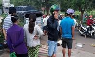 Xe tải tông người phụ nữ đi xe đạp tử vong thương tâm