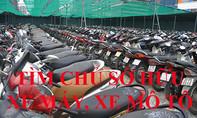 Tìm chủ sở hữu 132 xe gắn máy