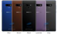 Galaxy Note 9 sẽ sở hữu 'pin trâu', 5 lựa chọn màu sắc