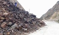 Sạt lở nghiêm trọng trên tuyến đường lên xứ sâm Ngọc Linh