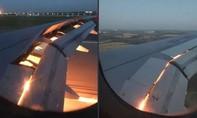 Máy bay chở đội Ả Rập Saudi thi đấu World Cup cháy động cơ trên không