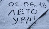 Sau 137 năm, Nga lại có tuyết rơi giữa mùa hè