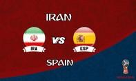 Iran – Tây Ban Nha: Bò tót quyết cạnh tranh vị trí nhất bảng