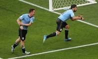 Suarez ghi bàn, Uruguay và Nga dắt tay nhau vào vòng 16 đội
