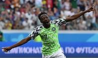 Nigeria thắng Iceland 2-0, thêm hy vọng cho Argentina