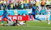Brazil hạ Costa Rica bằng 2 bàn thắng phút bù giờ