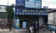 Cháy cửa hàng tạp hóa ở Sài Gòn, chồng chết, vợ nguy kịch
