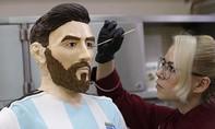 Messi được đúc tượng bằng chocolate