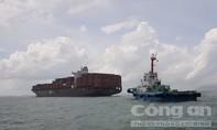 Tàu container mắc cạn trên đường đi vào cảng Cái Mép – Thị Vải