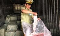Container chở 6,5 tấn thịt thối có chữ Trung Quốc vào Sài Gòn