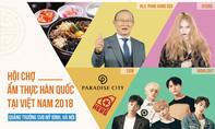 HLV Park Hang Seo giao lưu ẩm thực Hàn tại Việt Nam
