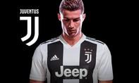 Ronaldo gia nhập Juventus, nhận lương 30 triệu euro mỗi mùa