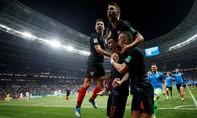 Ngược dòng xuất sắc, Croatia lần đầu tiên vào chơi trận chung kết