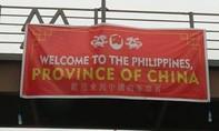 Băng rôn hiển thị sai chủ quyền khiến dân Philippines nổi đoá