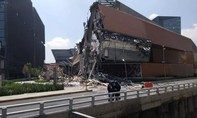 Trung tâm thương mại sang trọng ở Mexico bất ngờ đổ sập