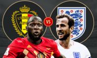 Anh – Bỉ: Trận đấu an ủi cho những ứng viên Vua phá lưới