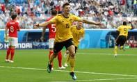 Bỉ đoạt huy chương đồng trong trận đấu bị Anh dồn ép