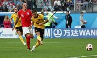 Clip diễn biến chính trận Anh - Bỉ