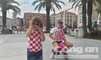 Người dân Croatia háo hức trước trận chung kết lịch sử