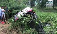 Tập lái ô tô tông chết người rồi lao xe xuống kênh ở Sài Gòn