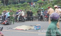 Hai xe máy đối đầu, một người tử nạn tại chỗ