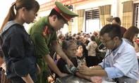 Đoàn Thanh niên Bộ Công an về nguồn ở Truông Bồn, Đồng Lộc