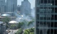 CNN: Nổ lớn bên ngoài sứ quán Mỹ ở Bắc Kinh
