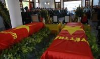 Lễ truy điệu 2 phi công hy sinh trong vụ máy bay rơi