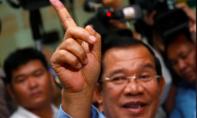 Đảng của ông Hun Sen tuyên bố thắng lớn trong cuộc tổng tuyển cử