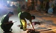 Mâu thuẫn trong cuộc nhậu, thanh niên bị chém tử vong