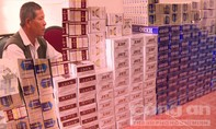 Sóc Trăng bắt vụ vận chuyển thuốc lá nhập lậu