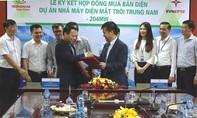 EVN ký hợp đồng mua điện mặt trời của Trungnam Group