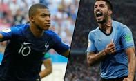 Hãy đặt cửa Pháp sẽ thắng Uruguay!
