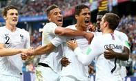Uruguay thua Pháp 0-2 trong ngày vắng Cavani